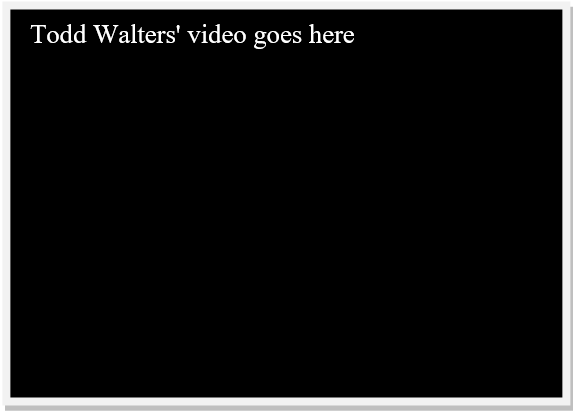 todd walter's video